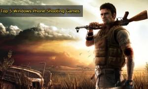 best five windows phone shooting games