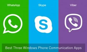 top three windows phone apps