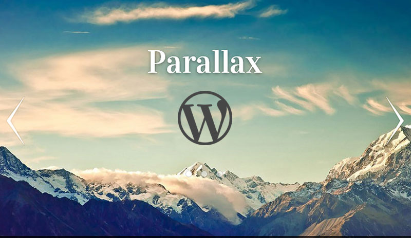Best one Page Parallax WordPress Themes